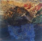 Coniston Water by Demo Portfolio, Painting, Encaustic mixed media